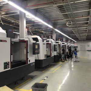 Tiến hành lắp đặt và vận hành 10 trung tâm gia công MCV 5500 tại xưởng JEIL-TECH VINA